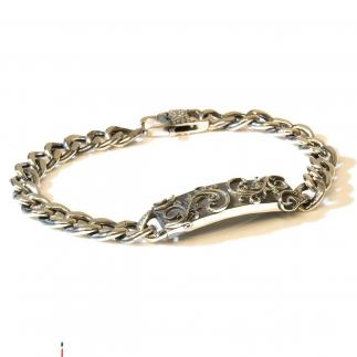 Intertwine Silver Armband